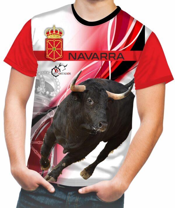 Camiseta comunidad navarra pamplona