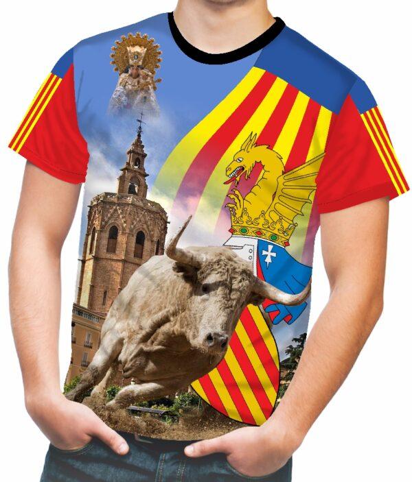 Camiseta de toros comunidad valenciana