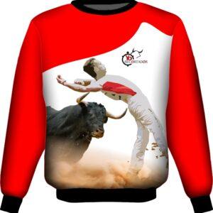 Camiseta toros con recorte de espaldas