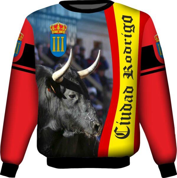 Sudadera carnaval del toro ciudad rodrigo
