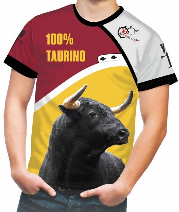 camiseta toro negro zaino