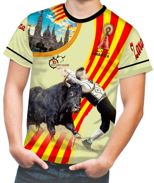 El pilar zaragoza camiseta taurina para las fiestas del pilar