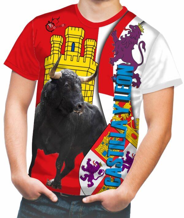 Camiseta Taurina de la comunidad Castilla León
