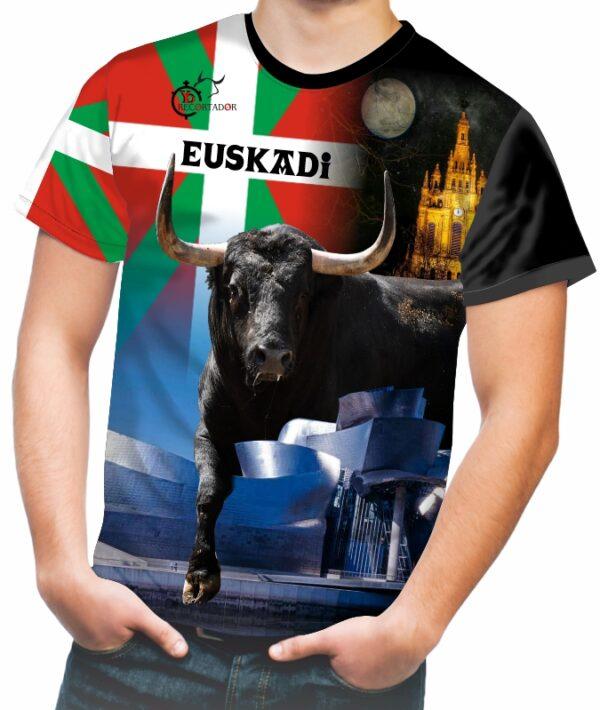 Camiseta taurina comunidad de Euskadi