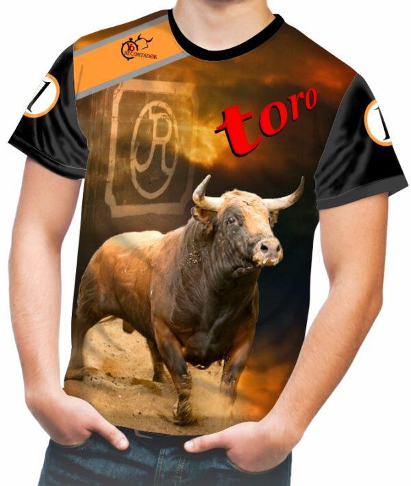Camiseta toro colorado