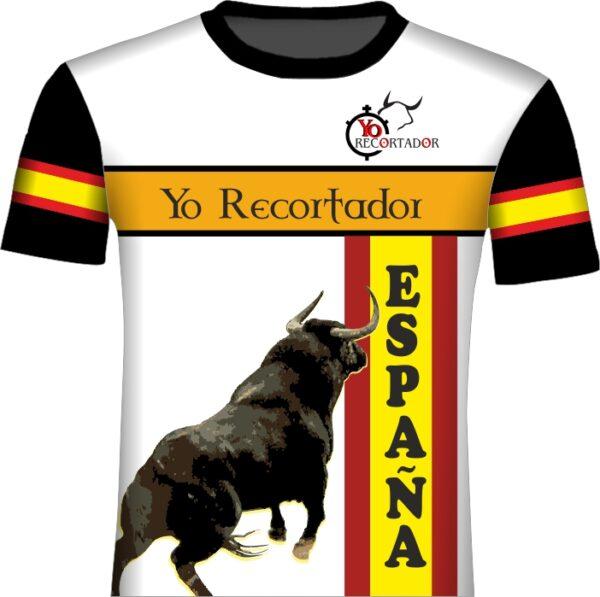 Camisetas de toros estilo concurso de recortes