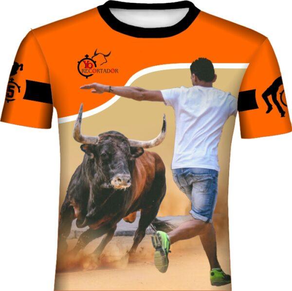 Camiseta Citando al Toro de frente