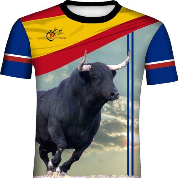 Camiseta para concurso de recortes
