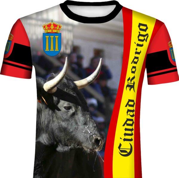 Camiseta taurina carnaval del toro Ciudad Rodrigo