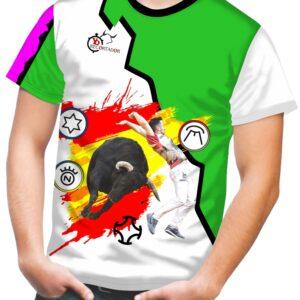 Camiseta de Toros Hierros Taurinos
