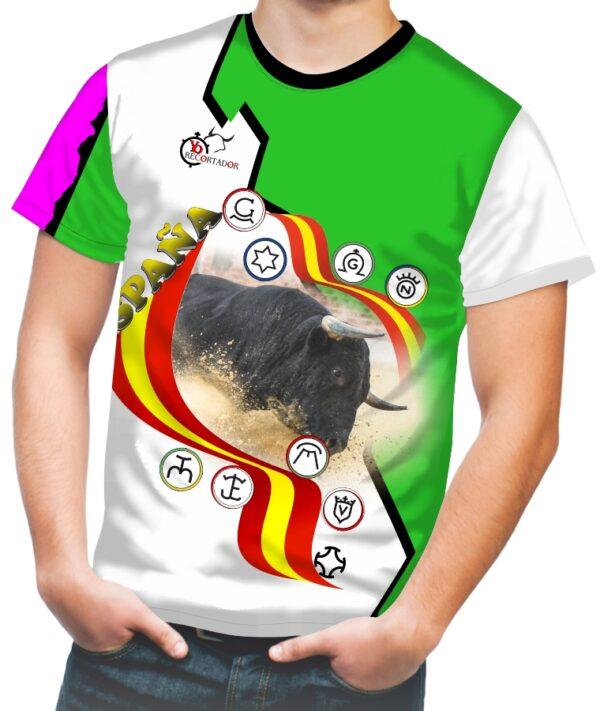 Camiseta de toros bravos deportiva